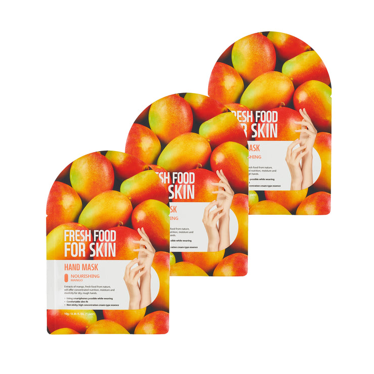 Fresh Food For Skin Nourishing Hand Mask (Mango Nourishing)