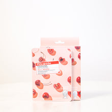 Load image into Gallery viewer, Pick Up & Go Fruity Facial Sheet Mask | Cherry - Refreshing | 5ct (4pk)