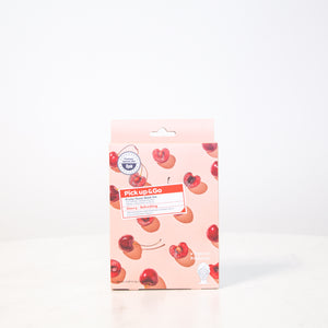 Pick Up & Go Fruity Facial Sheet Mask | Cherry - Refreshing | 5ct (4pk)