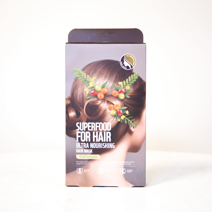 FARMSKIN Superfood | Ultra Nourishing Olive Complex Hair Mask
