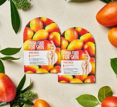 FARMSKIN Fresh Food For Skin | Mango Nourishing Hand Mask