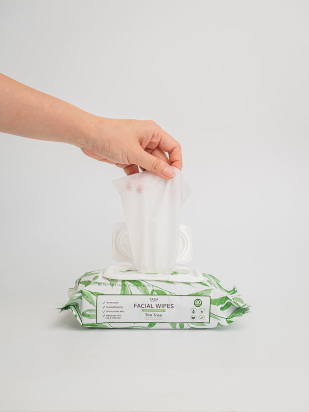 TADA Cleansing Wipes (Tea Tree)