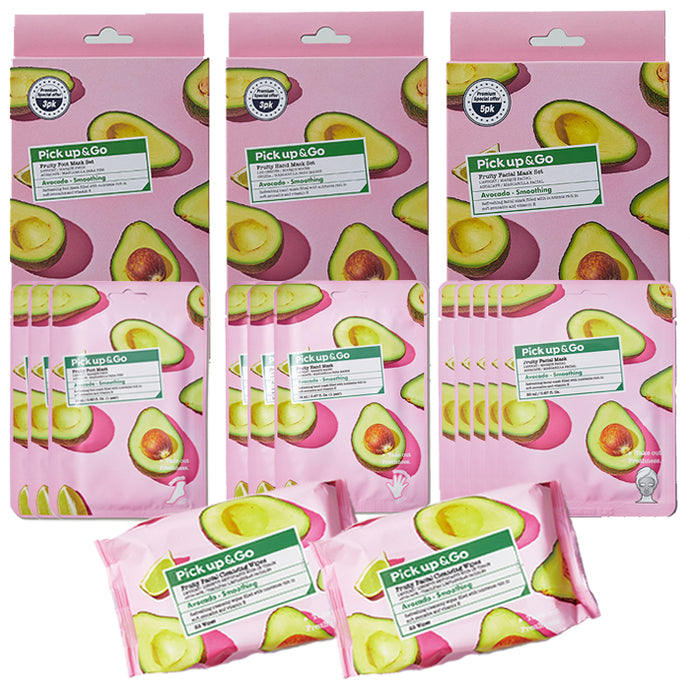 Pick Up & Go | VALUE SET | 13pc Avocado Pamper Set