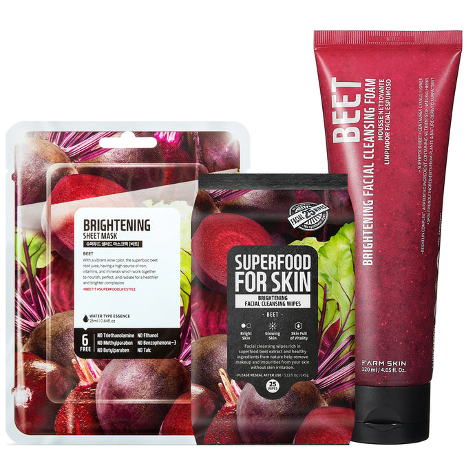Farmskin Superfood for Skin | Beet Skincare Set
