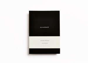 Blank Journal - Black