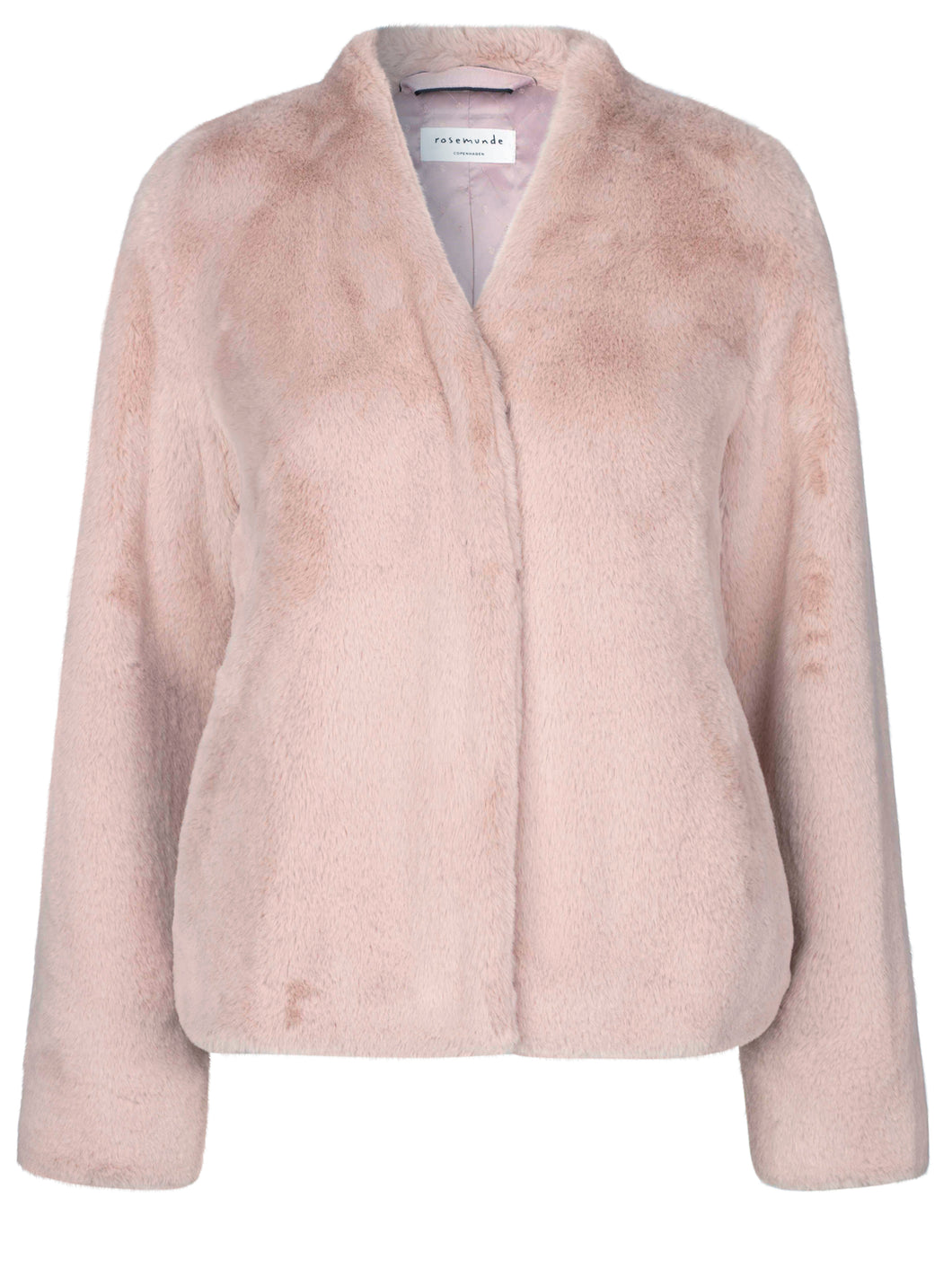 Monaco Faux Fur Coat Vintage Powder