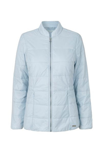 Fitted Quilted Lightweight Down Jacket