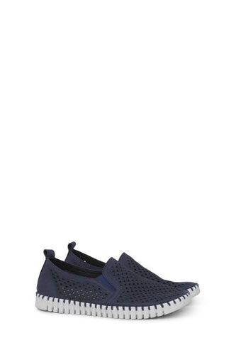 Ilse Jacobson MENS Tulip shoe. Color is NAVY