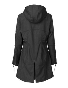 Soft Shell Fitted Three Quarter Raincoat