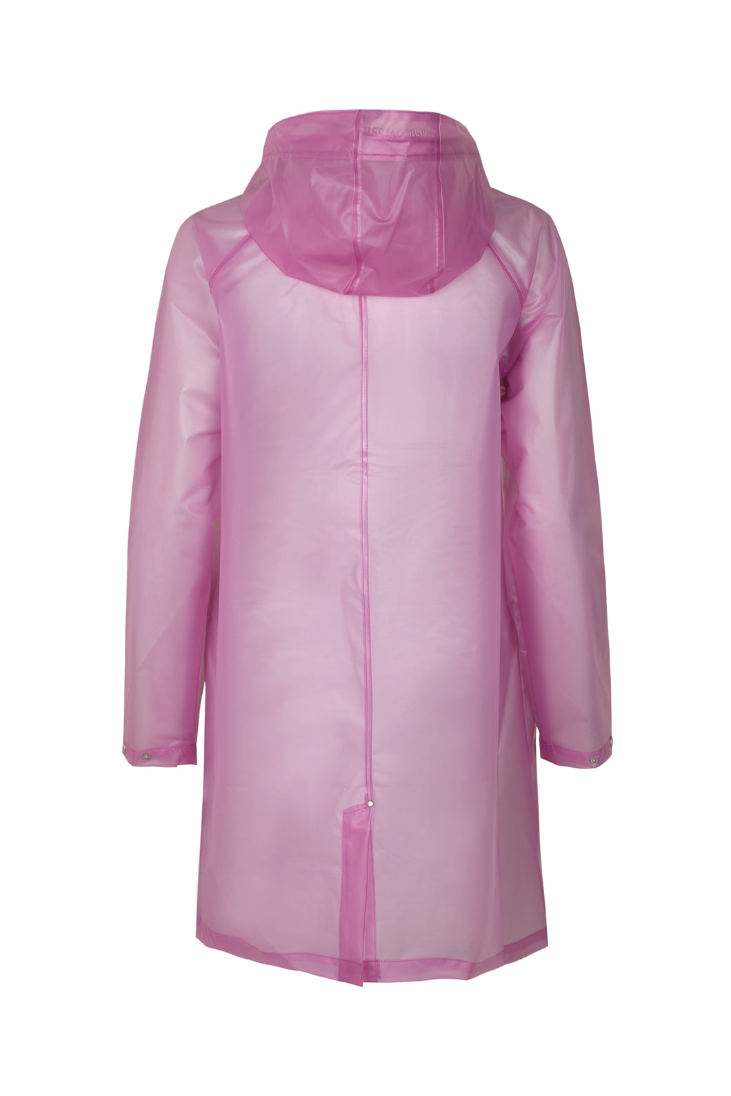 Clear Raincoat Rose Pink