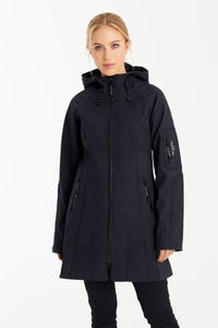 Soft Shell Raincoat Three Quarter Length
