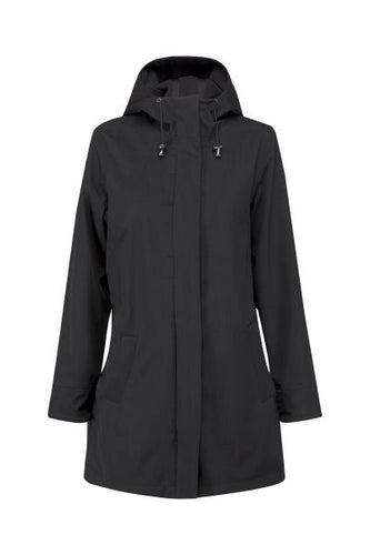 Light Weight Soft Shell Raincoat Classic Length