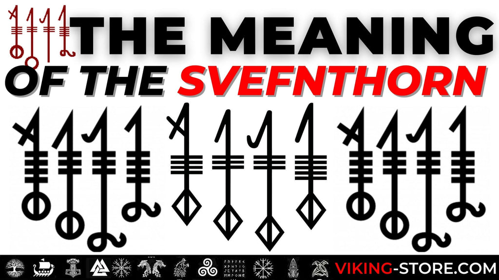 "Svefnthorn, The Viking Symbol For Sound ""Sleep Thorn"""