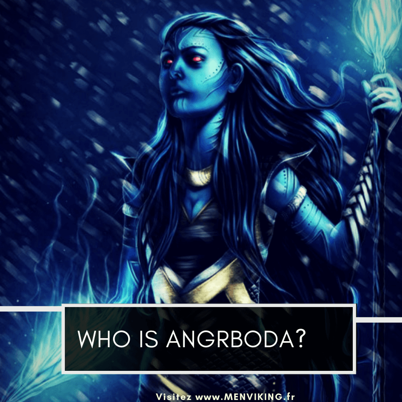 ANGRBODA: the ice giant presented in marvel