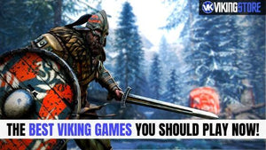 TOP 20 games about Vikings and their mythology