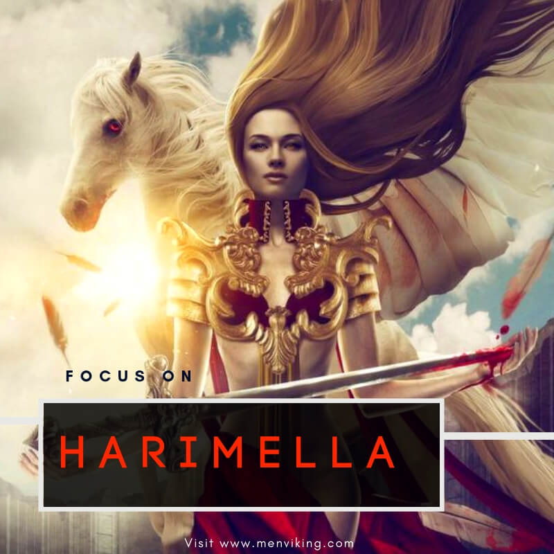 Harimella goddess of the german warriors