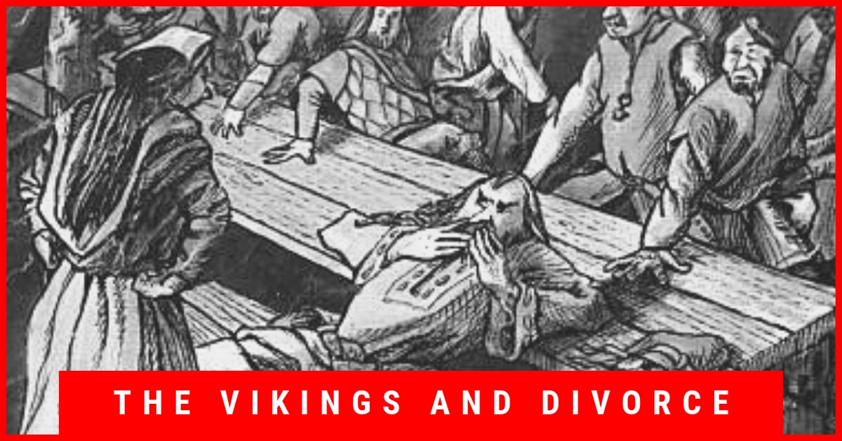 The Vikings and divorce