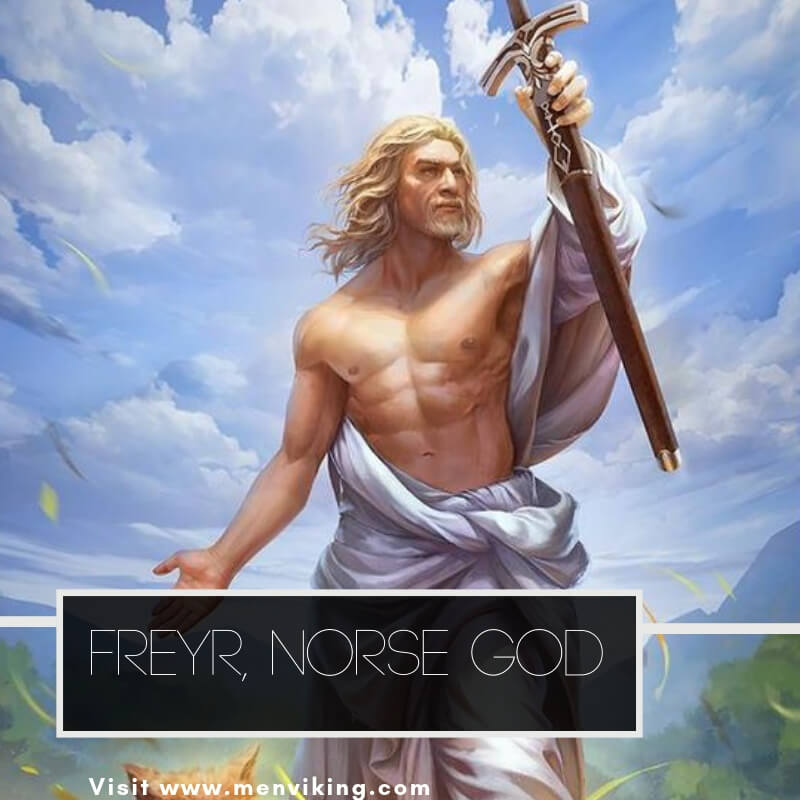 FREY: Norse God of Fertility and brother of freya