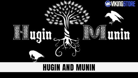 Hugin and Munin: Crows that Escorted Odin