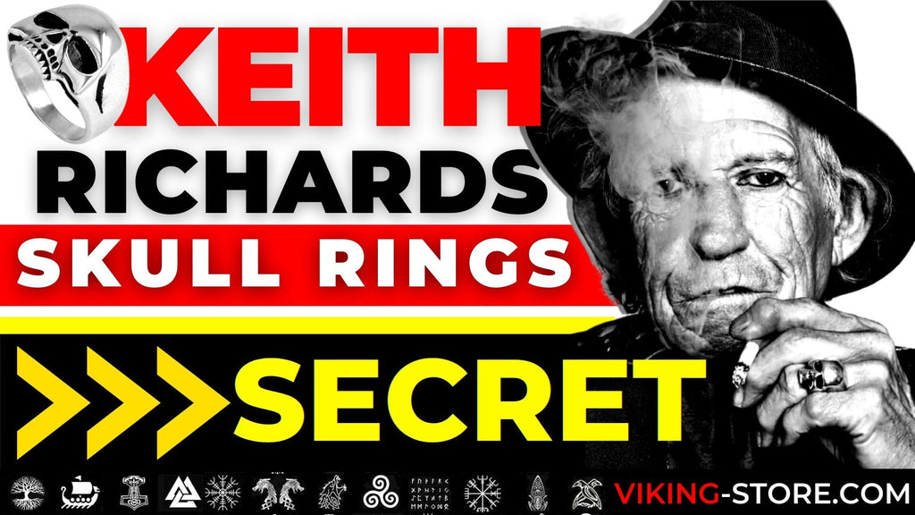 Keith Richards Skull ring, The Secret Reveals
