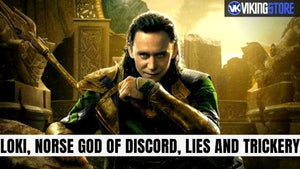 Loki, Norse god of discord, lies and trickery