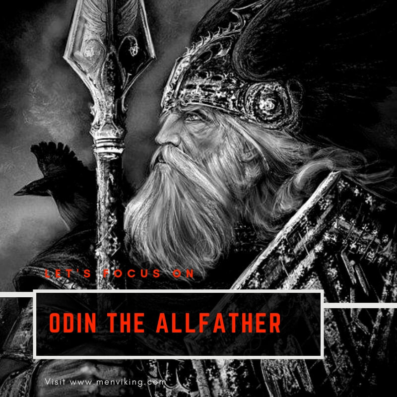 ODIN GOD: ALLFATHER AND MASTER OF ASGARD.
