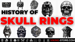 The history of skull rings, Dark Bad Ass jewelry.
