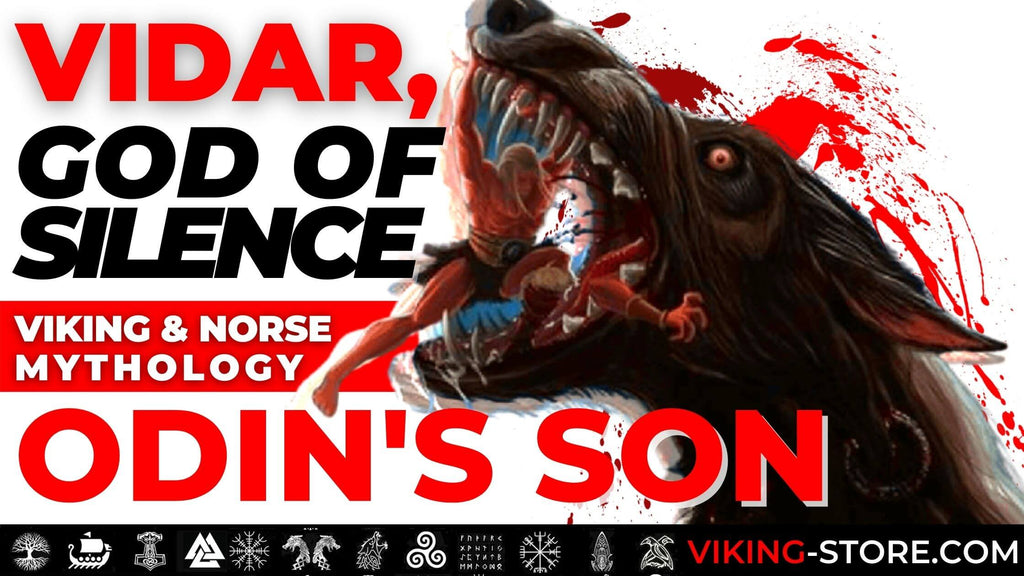 Vidar: Norse God of War and Silence