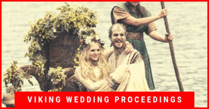 Viking wedding | Viking wedding proceedings