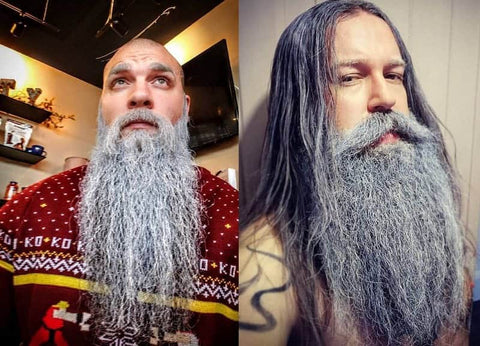 Long Viking Beard