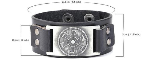 viking-axe-shield-bracelet