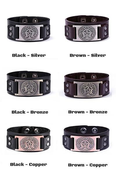 viking-bracelet-leather