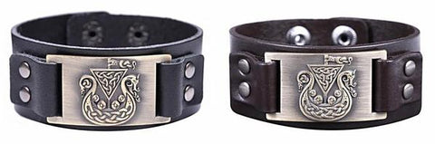 viking-bracelet-black-brown