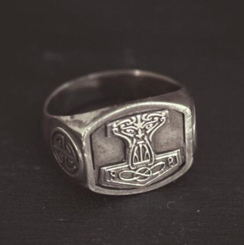 Authentic Thor Hammer Ring