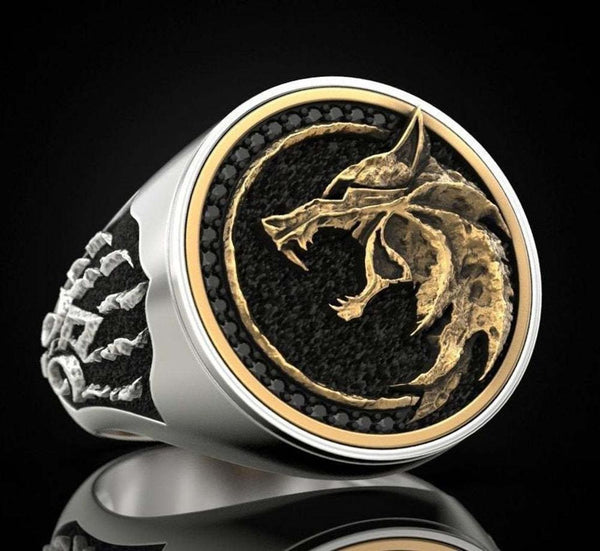 Norse Wolf (Viking Ring)