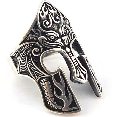 Viking Helmet Ring