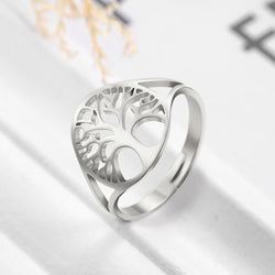 Tree of Live Celtic Ring