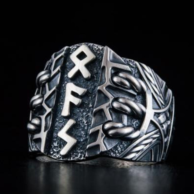 Futhark (viking rune ring)