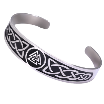 Valknut Symbol Viking Arm Ring