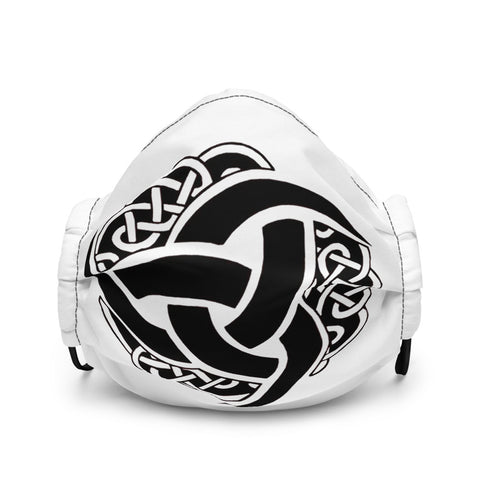 Odin's Triple Horns face mask