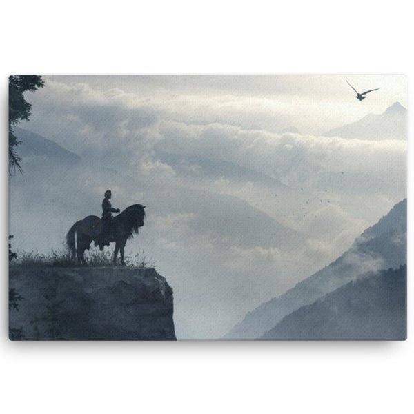 Norse Viking Canvas Wall Art