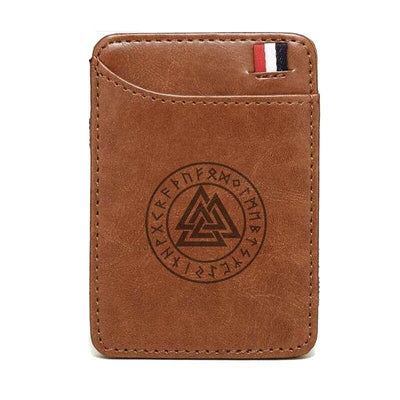 CLASSIC VIKING WALLET - Brown - 152405