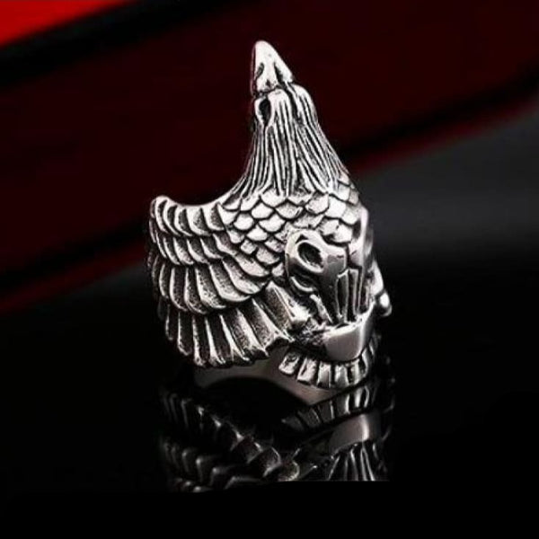 Crow Ring - Viking Ring