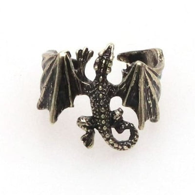 Dragon ring Daenerys - Resizable / Viserion - viking ring