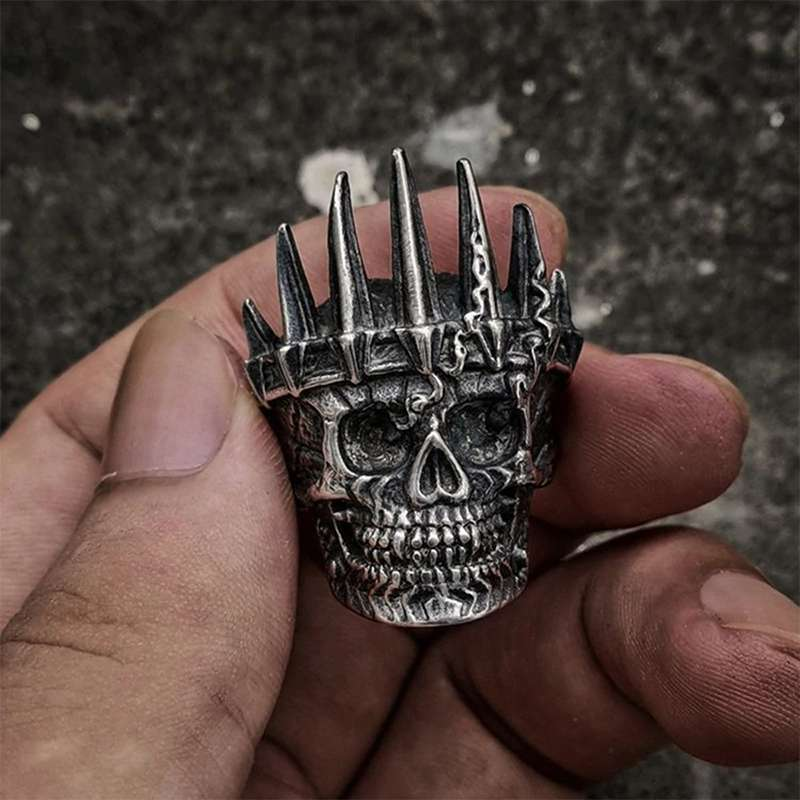 VIKING RING - RAGNAR SKULL