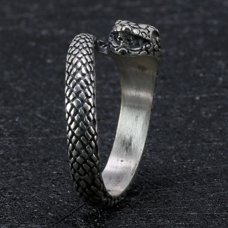 Viking Snake Ring