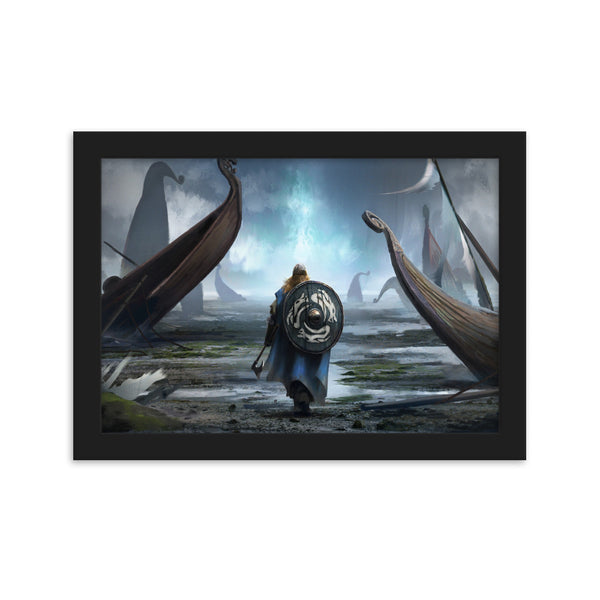 Ready to Valhalla (Viking Canvas)