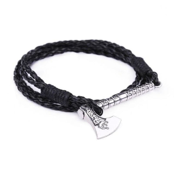 Handmade Viking Axe Bracelet - Antique Bronze Plated - viking bracelet