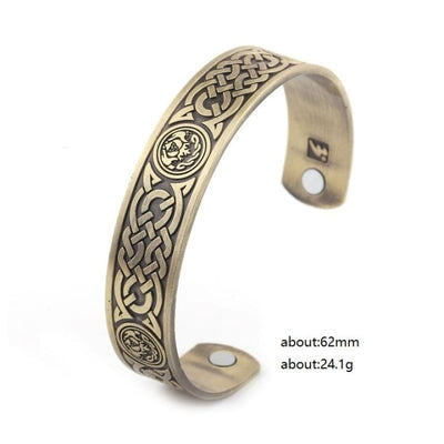 MAGNETIC VIKING ARM RING - Antique Bronze / Worldwide - 200000146