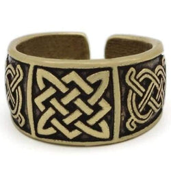 Norse Viking ring - Antique Bronze - viking ring